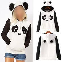 0ce86fdd2 Moletom Panda popular-buscando e comprando fornecedores de sucesso de  vendas da China em AliExpress.com
