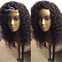 Alice Curly Wig Pre Plucked Brazilian Lace Front Human Hair Wigs With Baby Hair Deep Part 13x6 Lace Front Wig Remy Hair Wigs