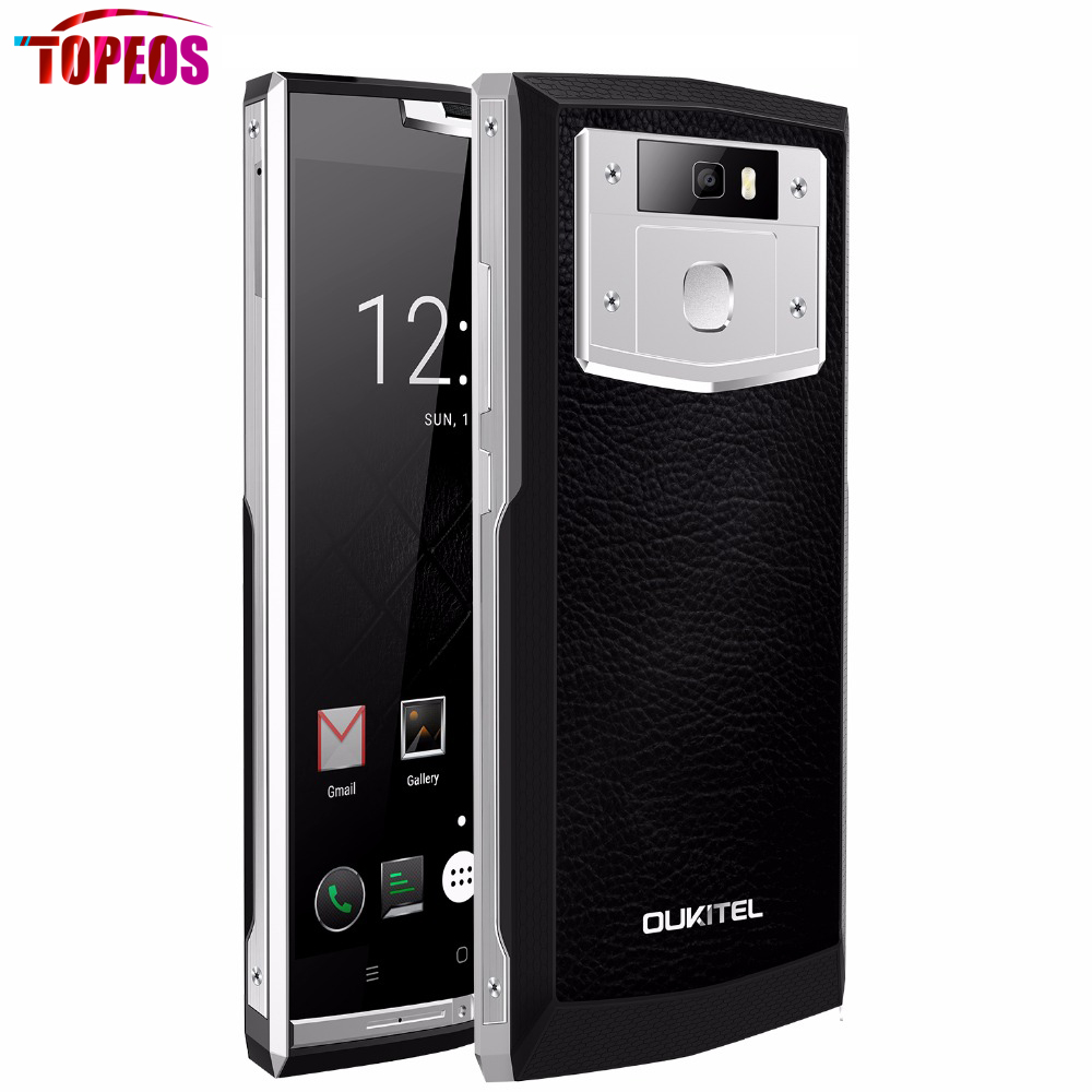 5 5 Oukitel K10000 Pro MT6750T Octa Core Mobile Phone Android 7 0 3GB RAM 32G