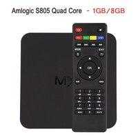 MX Amlogic S805 Quad Core XBMC KODI TV Box Android 4 4 Kitkat H 265 Wifi