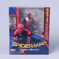 Spider Man Returning Hero Spider Man Movable Joints Homecoming Super Heroes Best Gift For Children Classic