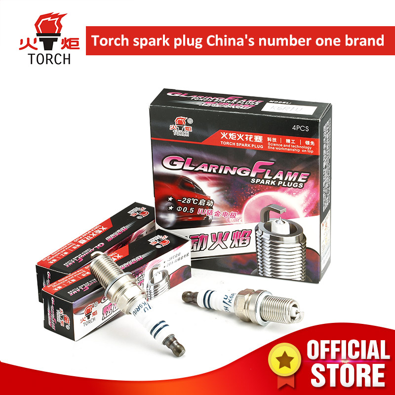 4packs 6packs Iridium TORCH spark plugs K6RIU FR7DP BKR6EIX IK20 RC8WYPB4 NEON ESCORT FIESTA ORION SCORPIO