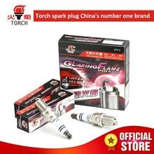 4pcs/lot China original TORCHIridium U groove spark plugK6RIUfor LADA oka/samara/2110-2112/kalina/priora/granta/largus,etc. lada samara 115 isbn 9785903091461