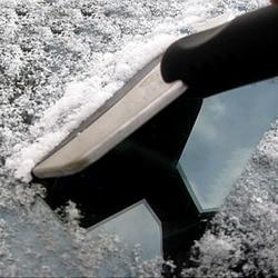 Herramienta de eliminación de raspador de pala de nieve de acero inoxidable herramienta de limpieza de coche de moda y herramienta de eliminación de hielo útil