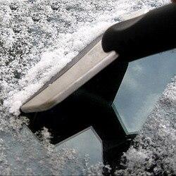 Pala de nieve inoxidable rascador de limpieza herramienta de limpieza Auto vehículo de moda y útil herramienta de eliminación de hielo