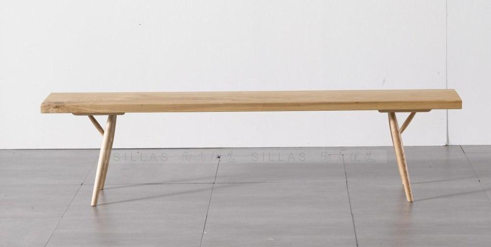 Designer Chair Ash wood bench bench bench European modern minimalist Scandinavian  furniture wood in Nail Tables from Furniture on Aliexpress com   Alibaba. Designer Chair Ash wood bench bench bench European modern
