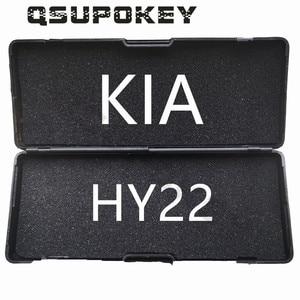 Image 2 - Qsupokey genuíno lishi picareta ferramenta de reparo ferramentas serralheiro va2t ne78 ne66 maz24 sip22 renault hu100 hu66 para carro/automóvel (não 2in1)
