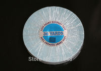 5 rolls/lot 1.27cmx36 yards Wholesale Lace front support strong double tape for skin weft/ pu weft/toupees /wigs