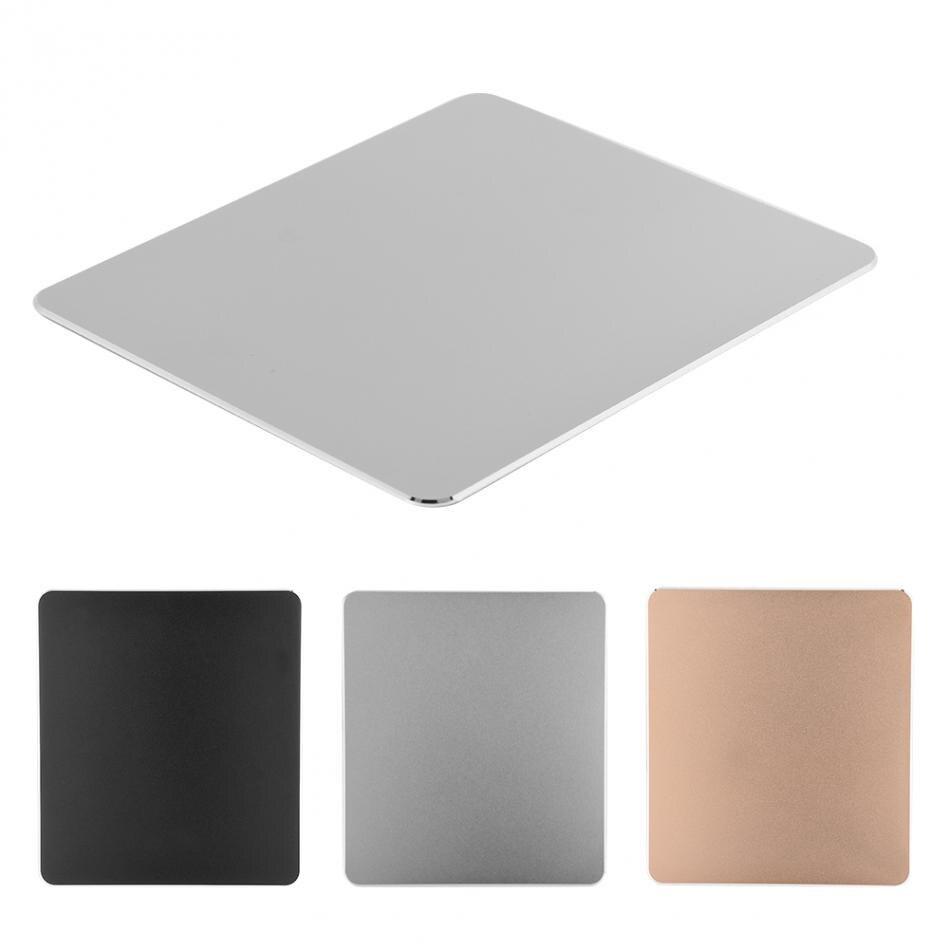 Aluminium Gaming Tapis de Souris En Métal Non-Slip Mince Ergonomique Souris D'ordinateur Pad Pour Mackbook PC ordinateur portable de Jeu Tapis de Souris tapis de souris L
