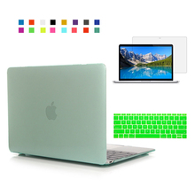 Kristall klarer fall für apple macbook air pro retina 11 12 13 15 laptop fall Für Mac buch 11,6 13,3 15,4 zoll macbook fall abdeckung