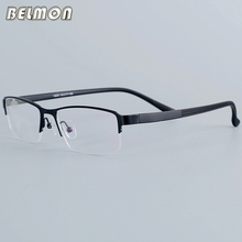 Belmon Eyeglasses Frame Men Computer Optical Prescription Myopia Nerd Clear Lens Eye Glasses Spectacle For Male RS16001