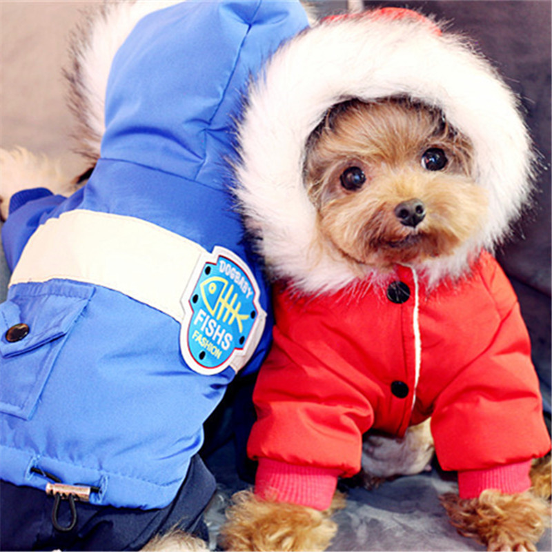 Winter Pet Clothing For Dog Jumpsuit Fleece Warm Dog Clothes Chinese New Year Pet Outfit Puppy Poodle Pomeranian Dog Costume Pet Products
