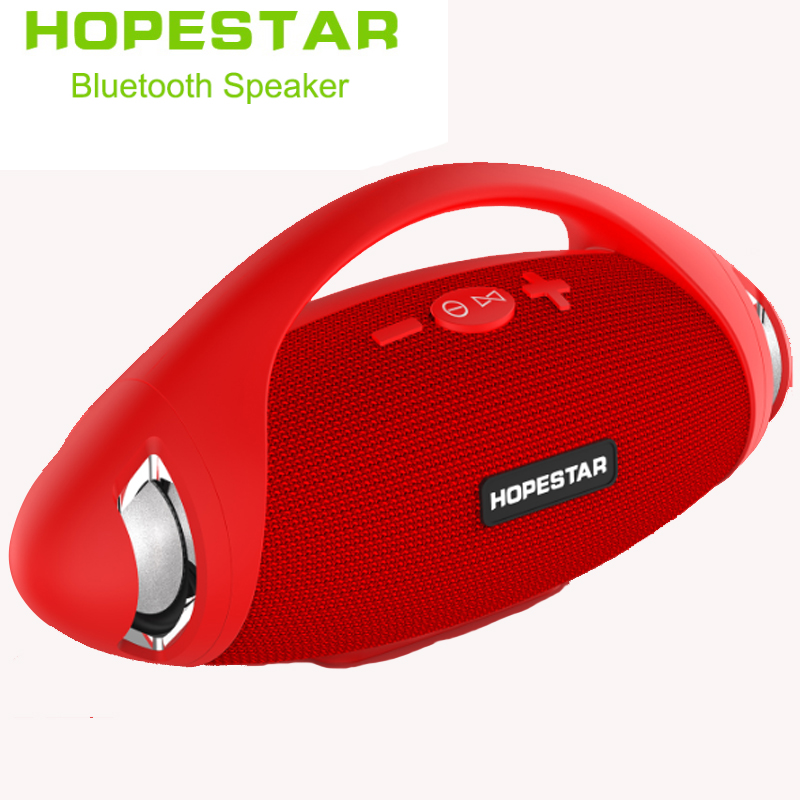 Rugby bluetooth speakers HOPESTAR H37 stereo soundbar waterproof outdoor wireless Subwoofer Mp3 player tf usb for charge mobile