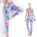 Yoga Set Women Sports Bra +Pants Push Up Gym Sport Suits Women Breathable Fitness Clothes Workout Sport Costumes Capris
