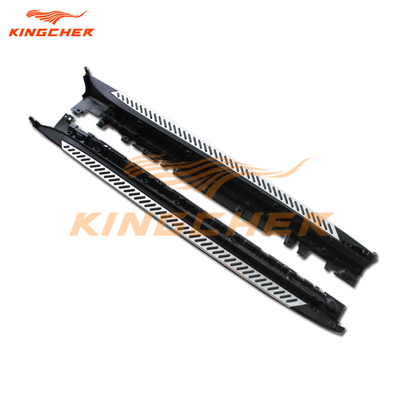 2008 And X5 And Bmw And Nerf And Running Board: Aluminium Running Board Side Step Nerf Bar For OEM Style