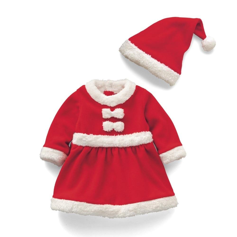 Ropa de Navidad para bebés Infantil Bebé Niñas Niños Santa