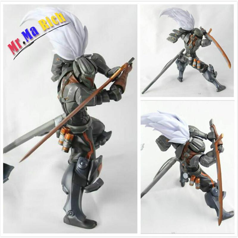 Gioco Lol Metal Gear Solid Yasuo Calda Il Unforgiven Pvc Figure Collezione Toy Model 20 Cm il gioco dell angelo