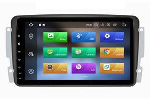 Image 3 - Octa Core Android 10.0 Auto Dvd Gps Speler Voor Mercedes Benz W209 W203 M/Ml W163 Viano W639 Vito raido Stereo Bt 4 + 32Gb Wifi Dab +