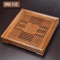Чайный набор лоток домашний простой кунг фу твердый деревянный стол японский стиль хранение воды морской Китайский кунг фу бамбуковые чайн