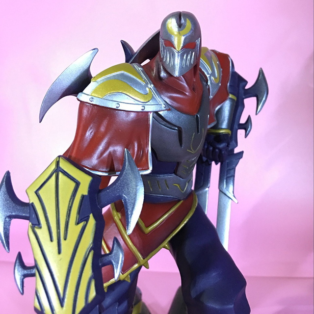 LOL League of Legends figure Action Game ZED Character Model Toy action 3D Game Heros anime party Gift 4