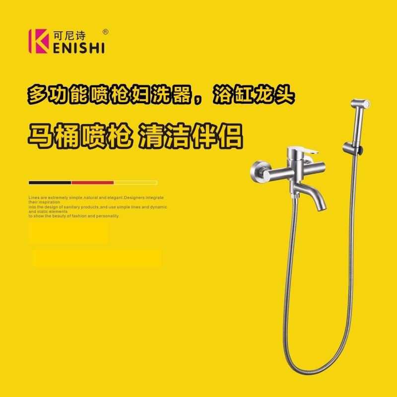 European Brass Shower Nozzle Antique Black Shower Set Retro Black Bronze Elevating Shower Head Shower Set Accessories - 2