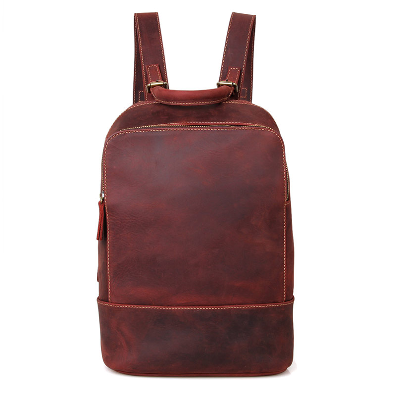 J.M.D 100% Genuine Leather Causal Travel Bag Backpack Fashion Design Fashion Schoolbag Double Layers Backpack C008XJ.M.D 100% Genuine Leather Causal Travel Bag Backpack Fashion Design Fashion Schoolbag Double Layers Backpack C008X
