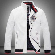 New Brand Spring Autumn Men Casual Shark Jacket Coat Mens Fashion Washed Cotton Brand-Clothing Jackets Male Zipper Coats