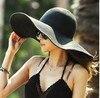2017 Fashion Women S Ladies Foldable Wide Large Brim Floppy Summer Sun Beach Hat Straw Hat
