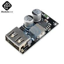QC3.0 QC2.0 USB DC-DC понижающий преобразователь модуль зарядки 6-32 в 9 в 12 В 24 в для быстрого зарядного устройства плата 3 в 5 в 12 В понижающий