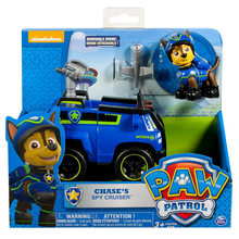 Original Nickelodeon Paw Patrol Chase's Spy Cruiser Spin Master Pup Rescue Vehicle Toy Set Anime Action Figure Toys Kid Gifts spin master nickelodeon paw patrol 16721 спасательный ровер маршалла