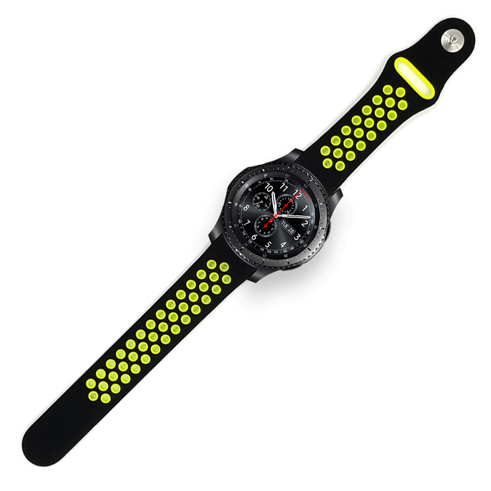 Sports silicone Strap Band for samsung galaxy gear S3 Frontier Replaceable Bracelet Strap for Samsung S3 Classic 18 colors rubber wrist strap for samsung gear s3 frontier silicone watch band for samsung gear s3 classic bracelet band 22mm