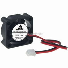 2PCS Gdstime 25x25x10mm 2510 Mini 25mm 24V Brushless DC Fan Cooling Cooler Radiator