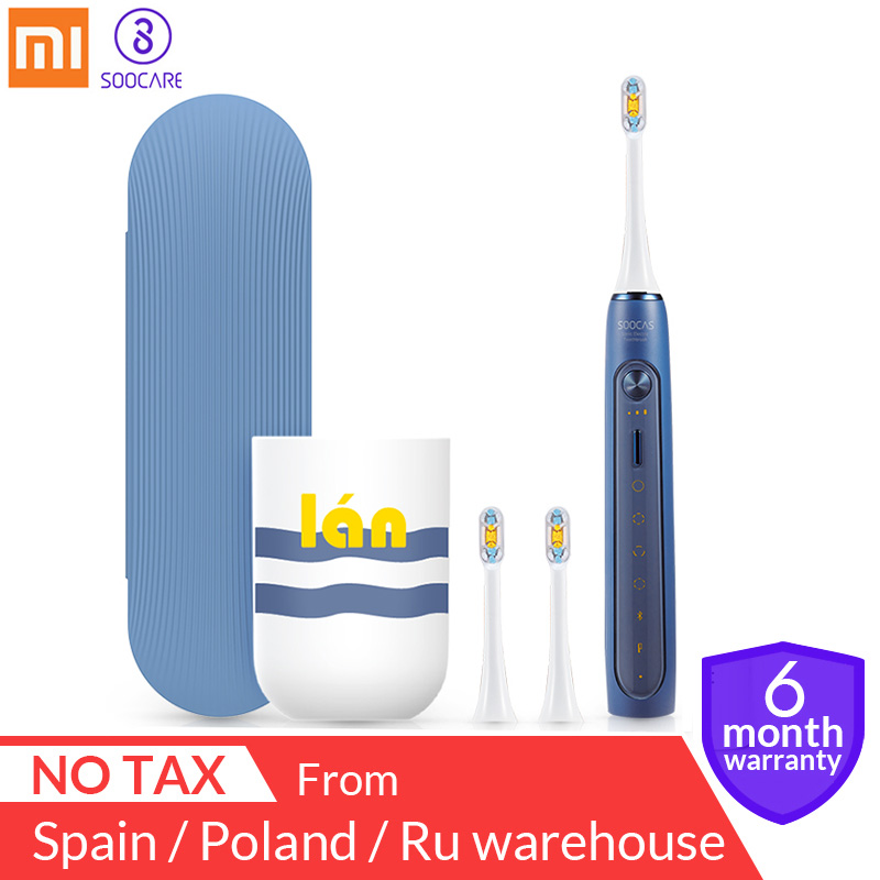 Xiaomi mijia Soocas X3 X5 Sonic Electric Toothbrush USB Rechargeable Upgraded adult Waterproof Ultrasonic automatic Toothbrush