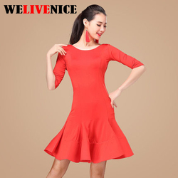 2017 sexy latin dance dress women girls polyester salsa samba tango ballroom competition costume lady dance.jpg 250x250