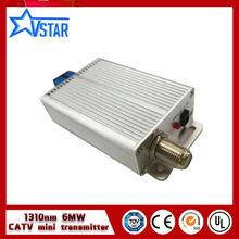 Китай поставщик 1310nm catv оптический передатчик 6 МВт