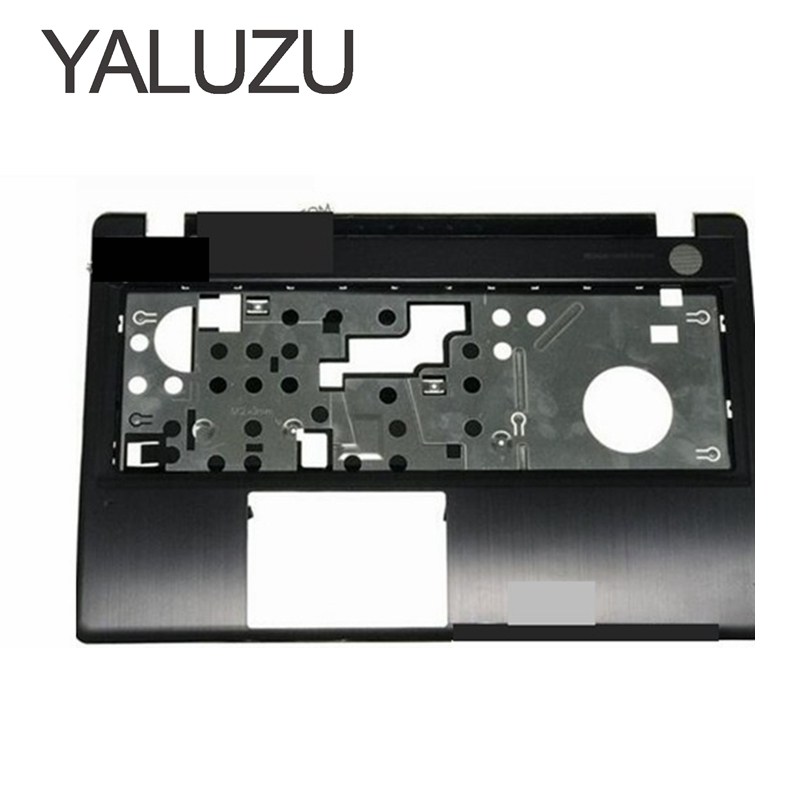 YALUZU New !!! Case Cover For Lenovo Z580 Laptop Series bottom case Z585 Base Bottom/ Palmrest COVER UPPER CASE LOWER COVER new for lenovo y520 r520 r720 palmrest cover laptop bottom base case cover