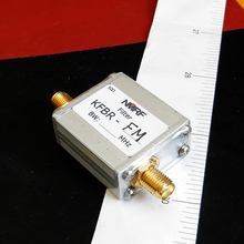 Free shipping KFBR-FM 88~108MHz LC band stop filter, remove FM broadcast signal, SMA interface