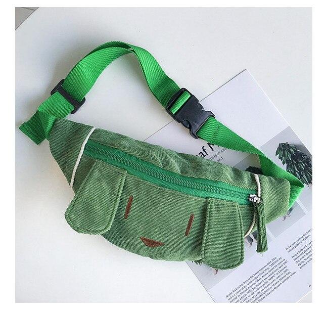 b0c21f39b82d Monsisy 2019 Kid Waist Bag Girl Boy Fanny Bag Fashion Cotton Dog/Cat Chest  Bag Children Wallet Animal Baby Wasit Pack Belt Bag