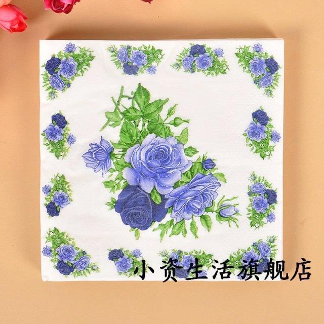 Sq32 Lebensmittelqualitat Papier Serviette Blume Festliche Party
