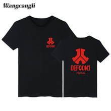wangcangli Rock Band Defqon.1 t shirts men fashion 2017 short sleeve tshirts Men/Women Spring Autumn Cool T-Shirt for Plus
