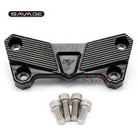 For KAWASAKI Z750 Z750S Z750R Z1000 Handlebar Top Clamp Cover Motorcycle Accessories CNC Aluminum