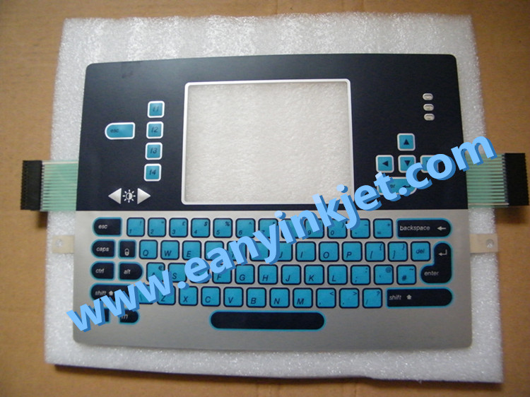 Videojet VJ1610 keyboard display keypad for Videojet VJ1610 printer
