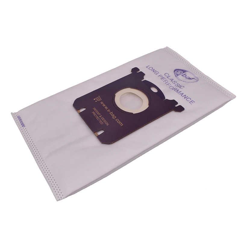 1 sztuka woreczek pyłowy odkurzacza S torba do Philips Electrolux FC8021 FC8202 HR6999 HR8345 HR8514 HR8345 HR8350 HR8352 HR8353 spar
