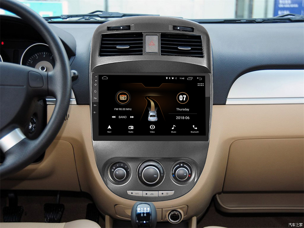 4G LTE Android 7.1 car gps multimedia video radio player in dash for Buick new Excelle 2008-2018 years navigation stereo