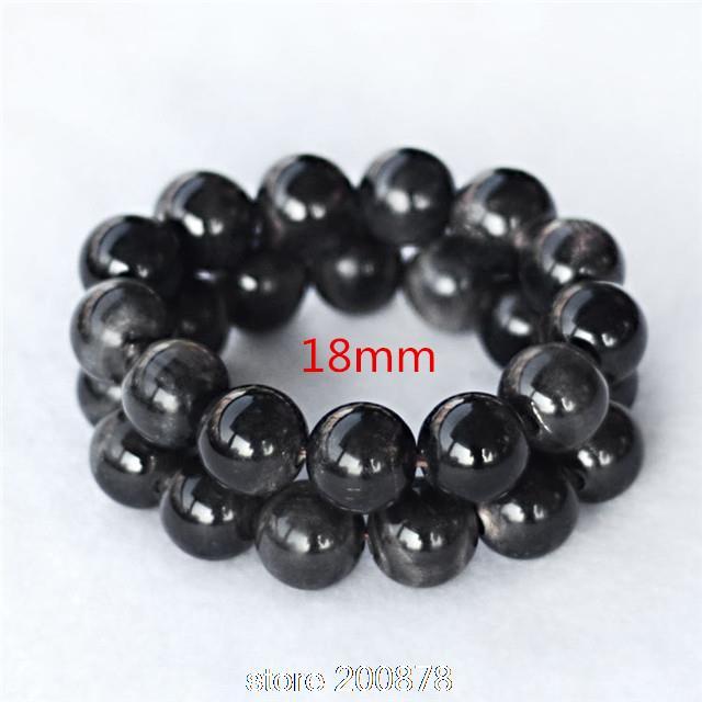 Bracelet Round Natural Summer Man Horn BB-473 Healthy Black 16/18/20/25mm
