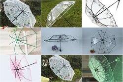 Przezroczyste składane parasol