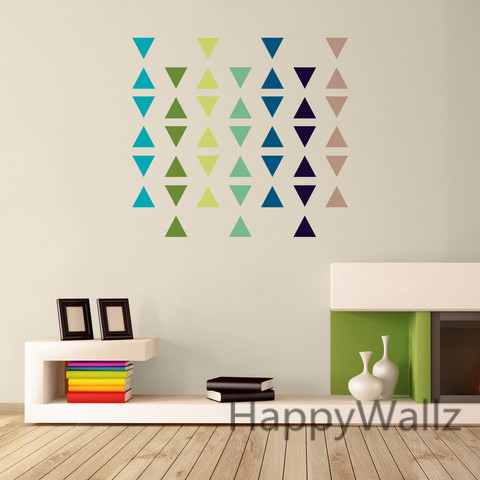 Aliexpress.com : Buy Triangle Wall Sticker Home Decor Baby Nursery Wall  Decals For Kids Room Modern Triangle Children Stickers Vinyl Wall Art P8  From ... Part 95