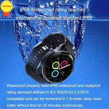 high quality WIFI smart watch Android 6.0 OS 2GB+16GB IP68 Waterproof MT6737 GPS Business use 4G Smart Watch Phone IOS men