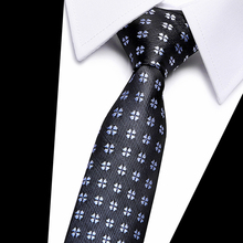New Design Paisley Jacquard Woven Silk Mens Ties Neck Tie 7.5 cm Striped for Men Business Suit Wedding Party