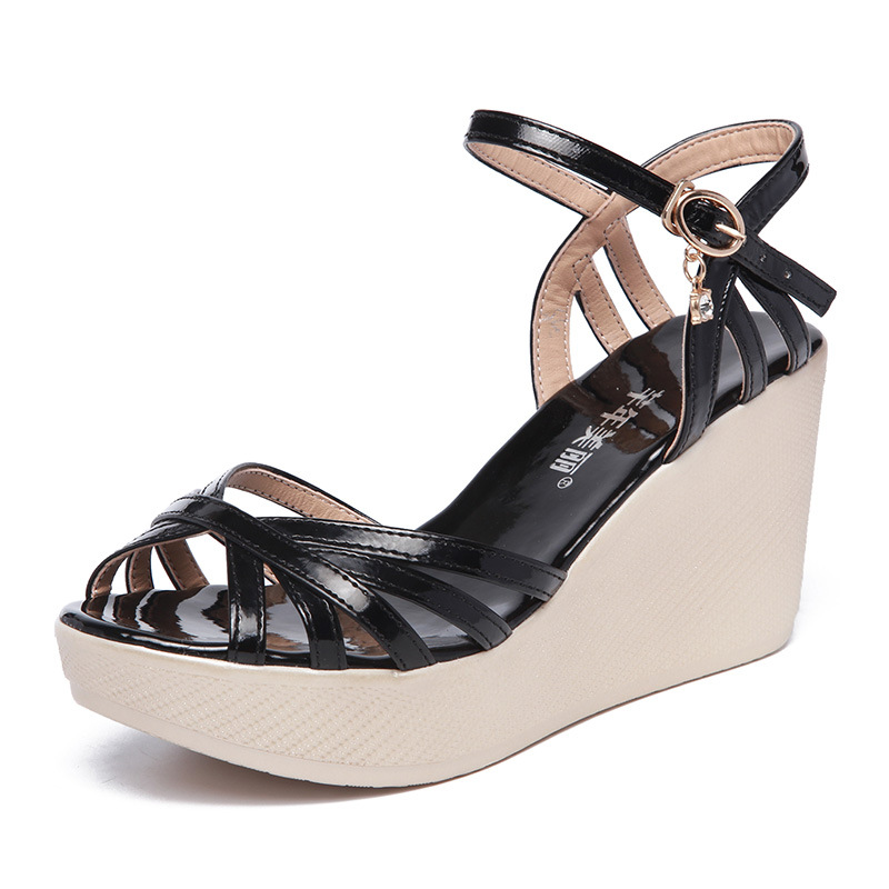 Zapatos Cuñas 2019 Verano Vzulqmspg Tacones Sandalias Mujeres De Moda 8NyvmwO0n
